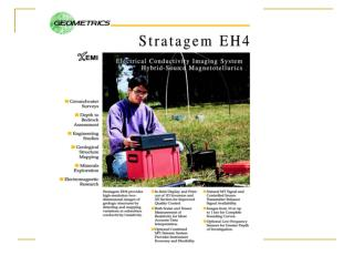 Stratagem EH4 Field Evaluation of Data Quality.