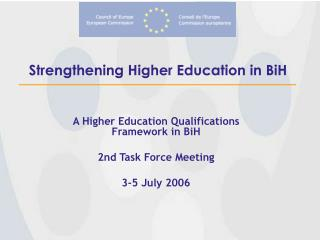 Strengthening Higher Education in BiH