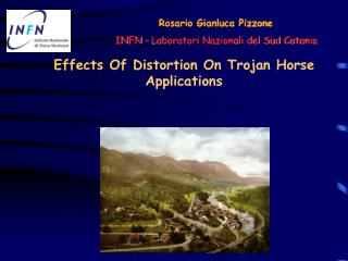 Effects Of Distortion On Trojan Horse Applications