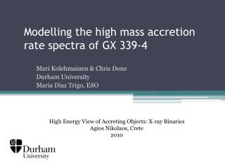 Modelling the high mass accretion rate spectra of GX 339-4