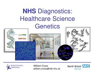 NHS  Diagnostics: Healthcare Science Genetics