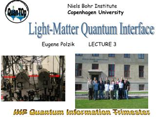 IHP Quantum Information Trimester