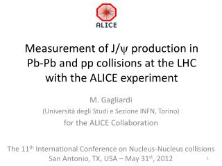 Measurement of J/ y  production in  Pb-Pb  and pp collisions at the LHC with the ALICE experiment