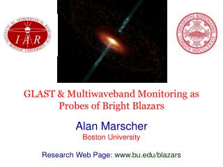 GLAST & Multiwaveband Monitoring as Probes of Bright Blazars