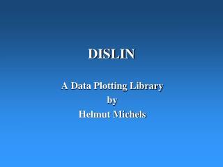 DISLIN
