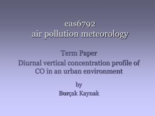eas6792 air pollution meteorology