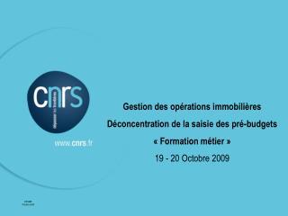 DFI-BBF Octobre 2009