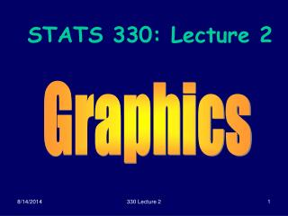 STATS 330: Lecture 2