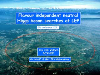 Flavour independent neutral Higgs boson searches at LEP