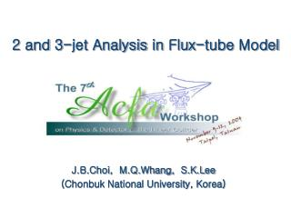 2 and 3-jet Analysis in Flux-tube Model