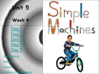 Unit 5 Week 4
