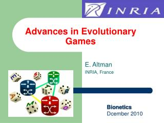 Advances in Evolutionary Games