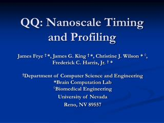 QQ: Nanoscale Timing and Profiling