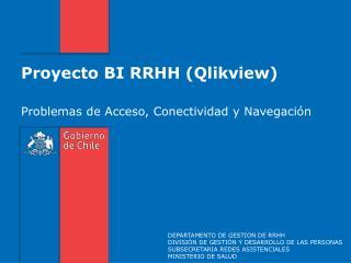 Proyecto BI RRHH (Qlikview)