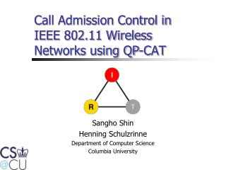 Call Admission Control in IEEE 802.11 Wireless Networks using QP-CAT