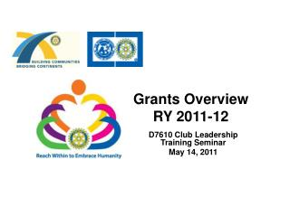 Grants Overview  RY 2011-12