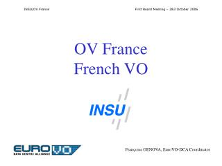 OV France French VO