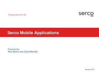 Serco Mobile Applications
