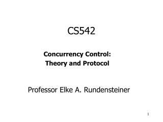 CS542
