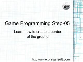 Game Programming Step-05