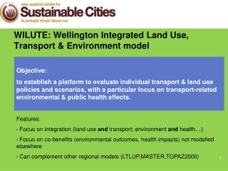 WILUTE: Wellington Integrated Land Use, Transport & Environment model