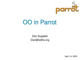 OO in Parrot