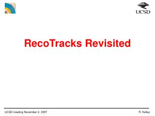 RecoTracks Revisited