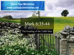 Mark 6:35-44