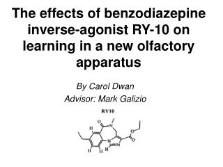 The effects of benzodiazepine inverse-agonist RY-10 on learning in a new olfactory apparatus