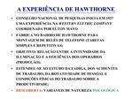 A EXPERI NCIA DE HAWTHORNE
