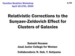 Relativistic Corrections to the Sunyaev-Zeldovich Effect for Clusters of Galaxies