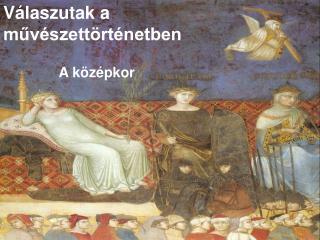 Válaszutak a művészettörténetben
