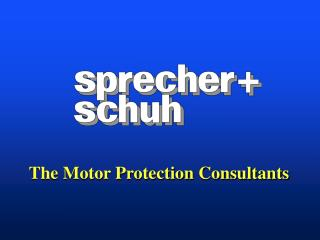 The Motor Protection Consultants
