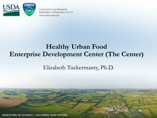 Healthy Urban Food  Enterprise Development Center The Center