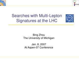 Searches with Multi-Lepton Signatures at the LHC