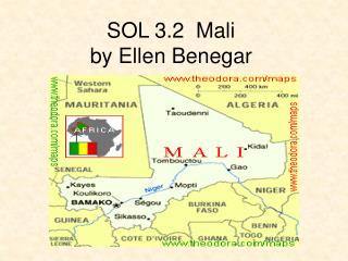SOL 3.2  Mali by Ellen Benegar