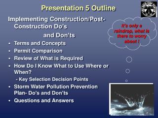 Presentation 5 Outline