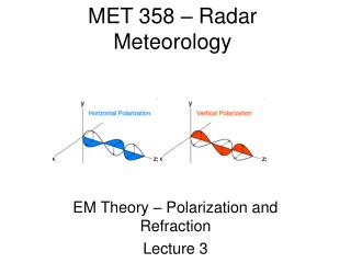 MET 358 � Radar Meteorology