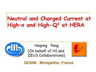 Neutral and Charged Current at High–x and High-Q 2  at HERA