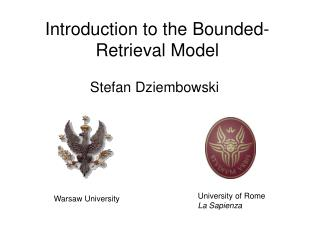 Introduction to the Bounded-Retrieval Model