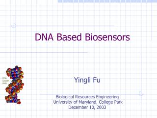 DNA Based Biosensors
