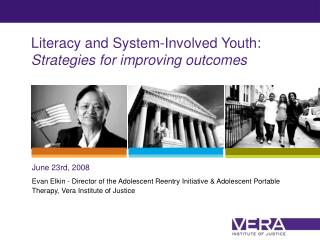Literacy and System-Involved Youth: Strategies for improving outcomes