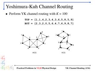 Yoshimura-Kuh Channel Routing