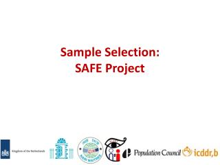 Sample Selection:  SAFE Project