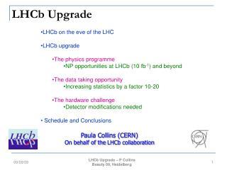 LHCb Upgrade