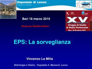 EPS: La sorveglianza