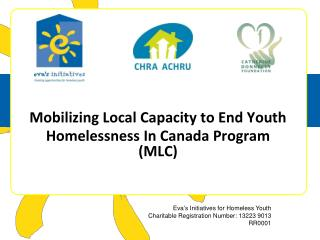 Mobilizing Local Capacity to End Youth  Homelessness In Canada Program (MLC)