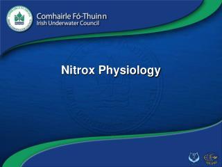 Nitrox Physiology