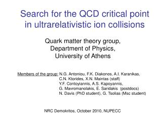 Search for the QCD critical point in ultrarelativistic ion collisions