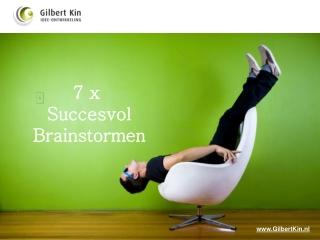 7 x succesvol brainstormen